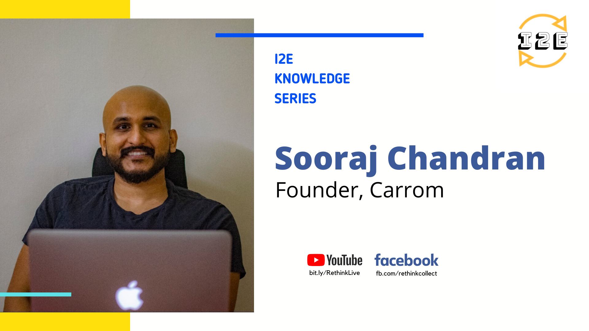 Knowledge Series with Sooraj (Founder, Carrom - acquired by Oyster)